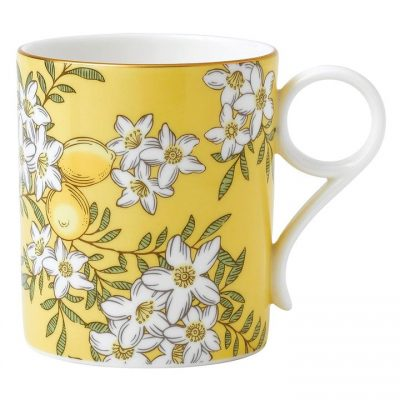 Tea Garden Mug, Lemon, 200ml By Wedgwood