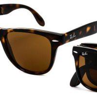 RB4105 Wayfarer Folding Sunglasses 710 By Ray Ban