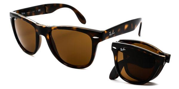RB4105 Wayfarer Folding Sunglasses 710 By Ray Ban