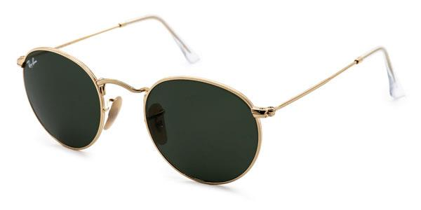 RB3447 Round Metal Sunglasses 001 By Ray Ban