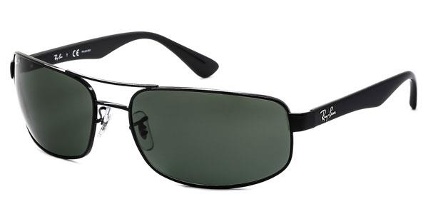 RB3445 Active Lifestyle Polarized Sunglasses 002/58 By Ray Ban