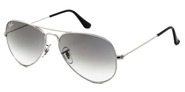 RB3025 Aviator Gradient Sunglasses 003/32 By Ray Ban