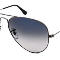 RB3025 Aviator Gradient Polarized Sunglasses 004/78 By Ray Ban