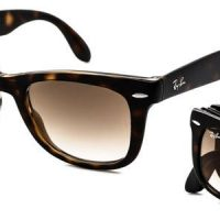 RB4105 Wayfarer Folding Sunglasses 710/51 By Ray Ban