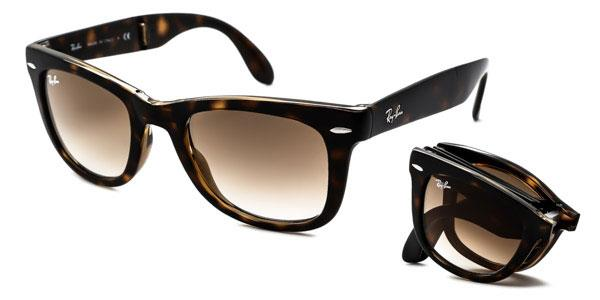 RB4105 Wayfarer Folding Sunglasses 710/51 By Ray Ban