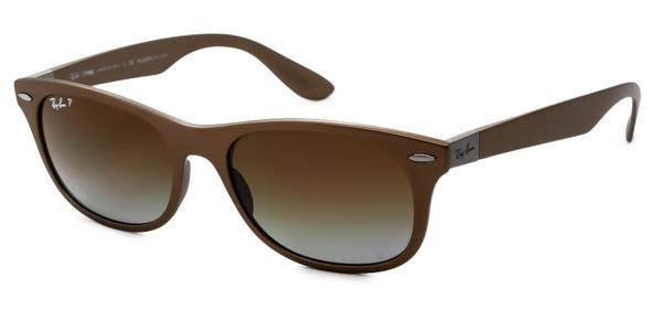 RB4207 New Wayfarer Liteforce Polarized Sunglasses 6033T5 By Ray Ban Tech