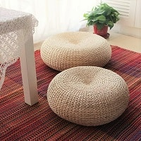 Ottomans and Floor Cushions