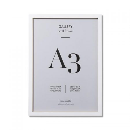 Gallery Frame A3 White Wall Frame By Home Republic