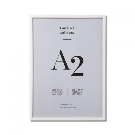 Gallery Frame A2 White Wall Frame By Home Republic