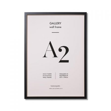Gallery Frame A2 Black Wall Frame By Home Republic
