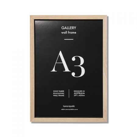 Gallery Frame A3 Natural Wall Frame By Home Republic