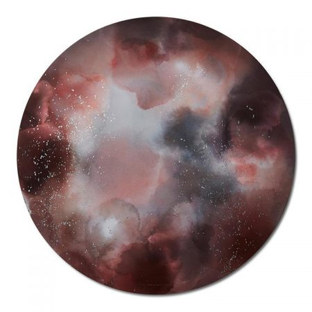 Constellation Canvas 70x70cm Stardust Pink Moon - Stardustpink By Home Republic