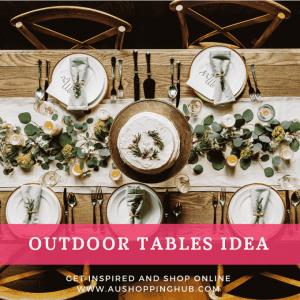 Outdoor Tables For Summer Bright Ideas For A Beautiful And Tasty Life